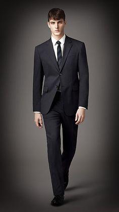 Burberry men's tailored suit