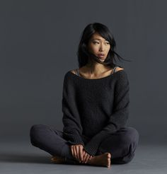 EILEEN FISHER's latest global media campaign which runs in Vogue and other notable fashion media celebrates artisan-made, fair trade garment origins featuring a sweater produced to their specifications by INDIGENOUS Fair Trade + Organic.