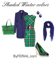 """""""Shaded Winter Colors"""" by byferial ❤ liked on Polyvore featuring Lauren Ralph Lauren, Reiss, Jil Sander, Emma Cook, Enzo Angiolini and Saachi"""