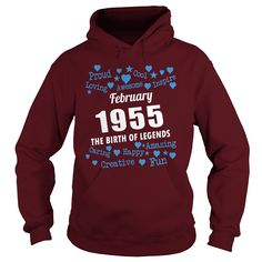 FEBRUARY 1955 the birth of legends Shirts, FEBRUARY 1955 Birthdays T-shirt, Born FEBRUARY 1955, FEBRUARY 1955 the birth of legends, 1955s Shirts, Born in FEBRUARY 1955 Birthdays, FEB 1955 Hoodie #gift #ideas #Popular #Everything #Videos #Shop #Animals #pets #Architecture #Art #Cars #motorcycles #Celebrities #DIY #crafts #Design #Education #Entertainment #Food #drink #Gardening #Geek #Hair #beauty #Health #fitness #History #Holidays #events #Home decor #Humor #Illustrations #posters #Kids…
