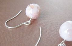 Hey, I found this really awesome Etsy listing at https://www.etsy.com/listing/44249445/rose-petal-single-drop-earrings