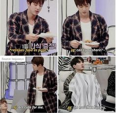 Oh, that's why he's stealing food XD