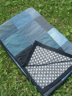 Denim Quilt | Flickr - Photo Sharing!
