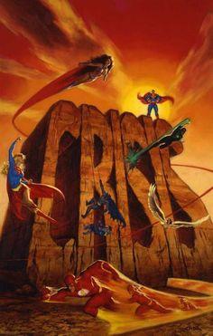 Crisis on Infinite Earths by Glen Orbik