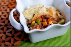 Healthified Shepards Pie