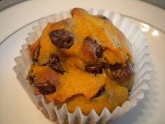 Gluten Free Dairy Free Pumpkin Chocolate Chip Muffins from Once A Month Mom | OAMC from Once A Month Mom