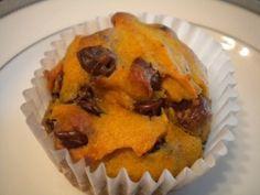 Gluten Free Dairy Free Pumpkin Chocolate Chip Muffins - Freezer Friendly