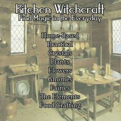 Kitchen Witchcraft: Find Magic in the Everyday – Witches Of The Craft®