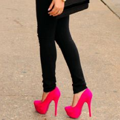 I want some hot pink pumps!