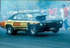 the awesome mopar missle prostock duster