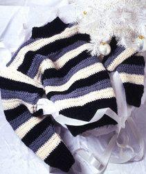Striped Pullover   AllFreeCrochet.com