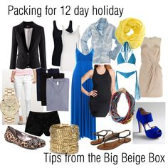 BBB Travel: Packing for 12 Day Trip