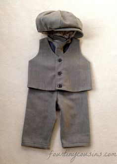 Ring bearer outfit natural baby clothes baby by fourtinycousins