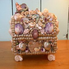 abalone mermaid box