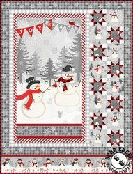 Snowy Wishes Ii Free Quilt Pattern Wilmington Prints Christmas Quilt Patterns Panel Quilt Patterns Quilt Patterns