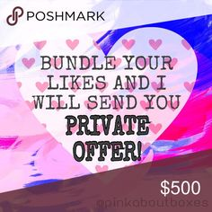 💜 Love My Items? Bundles Save Big!!! 💜 💜 Add all your likes to a bundle and I will send you an offer you can't refuse. Bundles save huge. Try it out. The more you add to bundle the more I discount. Happy poshing. Fast shipping. 💜 Other