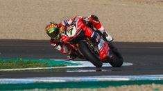 Chaz Davies, Aruba.it Racing – Ducati, Jerez Test day 1
