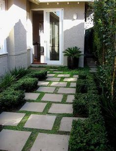 courtyard and pavers