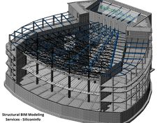 #Siliconinfo is a leader in delivering most advanced #Structural #BIM #Modeling #Services in all around the world. Structural #Building #Information Modeling is a useful device for construction management, cost management, and ongoing facility operation. We pleasure ourselves in delivering revolutionary and reliable Structural Building Information Models with the aid of using present day technologies. Our specialists create customised models to fulfill your particular demands. 9y