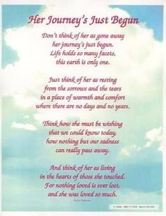 poems about dead aunt - Google Search