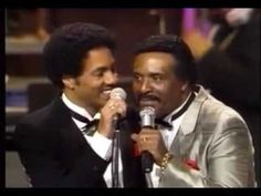"A moment from ""Motown 25"" that I think is just as incredible as Michael Jackson doing ""Billie Jean"". A ""duel"" between the Four Tops and the Temptations."