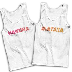 Hakuna Matata Best Friends Shirts by AwesomeBestFriendsTs on Etsy,