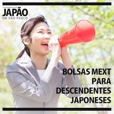O Ministério da Educação Cultura Esportes Ciência e Tecnologia do Japão (MEXT) está com bolsas para universitários descendentes de japoneses e que desejam aprofundar os seus conhecimentos nas áreas de língua cultura e literatura japonesa. . As inscrições podem ser realizadas de 15 de Janeiro a 22 de Fevereiro. Para participar é necessário ser descendente de japonês (nikkei) universitário de qualquer área com conhecimento de língua japonesa (desejável N4) e idade entre 18 e 29 anos. . Duração…