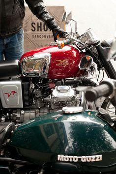 Moto Guzzi- another sexy Italian!