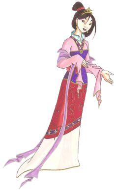 Disney Glamour 1998 Mulan by =Sil-Coke on deviantART