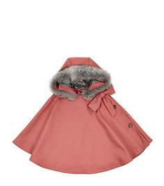 Harrods - Cape Dior - Little red riding hood #girls #cape