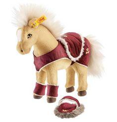 Spielwaren: Steiff Pferd mit Zubehör 25 cm blond von sonstige Marken