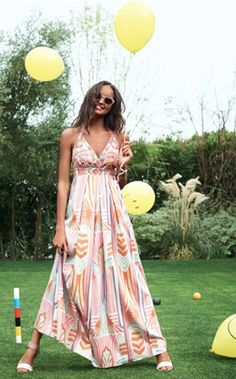 beaded print maxi dress  http://rstyle.me/n/c8hepdpe
