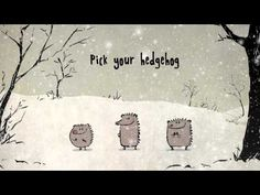 Singing Christmas Hedgehogs from Birdbox Studio - YouTube (heel leuk!!!)