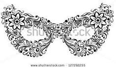 VENITIAN MASK PATTERN - Google Search