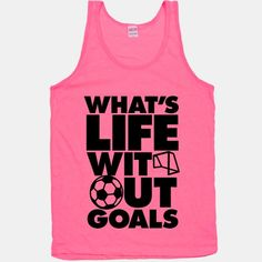 What is life without goals???