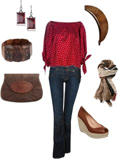 """""""Out with friends"""" by jossiebristow on Polyvore"""