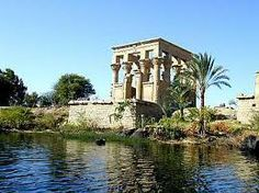 Visit the Greco Roman Temple at Kom Ombo dedicated to the Falcon God Haeoeris and the Crocodile God Sobek.