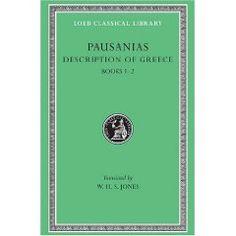 Description of Greece by Pausanias #loeb (http://www.hup.harvard.edu/loeb)
