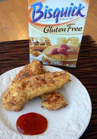 Ultimate Chicken Fingers (Gluten Free) Baked and Delicious. We had these for dinner and we all liked them.