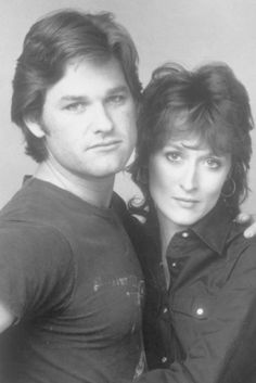 Kurt Russell and Meryl Streep. They both were filming the movie Silkwood, based on  Karen Silkwood, a metallurgy worker at a plutonium processing plant and her death   Cher also starred in the movie. Great chemistry between all of them. One of my favorite movies.