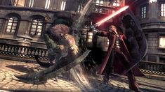 Capcom has announced that its releasing Devil May Cry 4 Special Edition for the Xbox One, and PC with a batch of new screenshots to show off the improvements Devil May Cry 4, Xbox Game, Console, Effective Time Management, Gothic Buildings, Hack And Slash, Quitter, Catalogue, Fantasy World