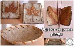 Fórmulas artesanales Parte I Paper Clay, Mundo Hippie, Pasta Crafts, Pasta Piedra, Concrete Crafts, Do It Yourself Crafts, Pasta Flexible, Boho Diy, Diy Projects To Try