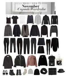 November Capsule Wardrobe by seven-moths on Polyvore featuring polyvore, fashion, style, Burberry, By Malene Birger, MANGO, H&M, Zara, Aspesi, WithChic, rag & bone, American Apparel, Étoile Isabel Marant, Moschino, Monki, River Island, Givenchy, Oasis, Miss Selfridge, Toast, UNIF, Vans, NLY Accessories, Isabel Marant, Topman, Dr. Martens and clothing
