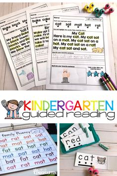 Students feel empowered when they read short passages! They'll love these CVC short a activities in their literacy centers and small groups! Make learning fun with these printables! #phonics #kindergarten