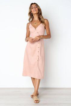 Avni Dress - Blush