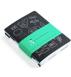 Stockholm Pocket Notebook Set / Pei Design