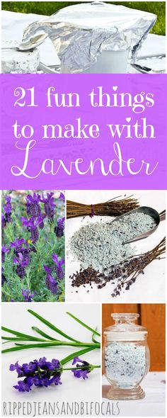 Do you love lavender like I do? Here are 21 fun things to make that are way easier than you think!  |DIY beauty|Lavender bath products|DIY gift ideas|Easy gift ideas|Easy DIY|DIY gift tips|Lavender tips|Lavender ideas|ways to use lavender|uses for lavende