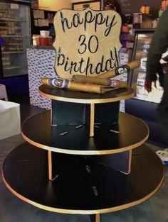Brooklyn Cupcake, Cigar Birthday Tower