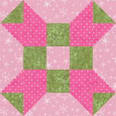 "Fool's Square, an easy 5"" quilt block that's perfect for baby quilts: About the Fool's Square Quilt Block Pattern"