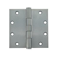 5' Dull Chrome Butt Hinges - Sold By The Box 1-1/2 Pairs (3 Pieces)